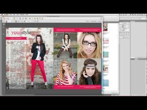 Creating a PDF & Using Issuu from Senior Portrait Magazine
