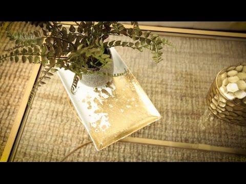 DIY Gold Leaf Tray