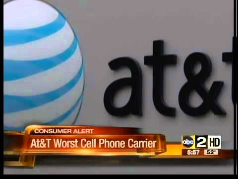 AT&T Worst Cell Phone Carrier