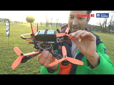 KC215 GT FPV racing drone (RADIOC.co.uk): Essential RC Flight Test