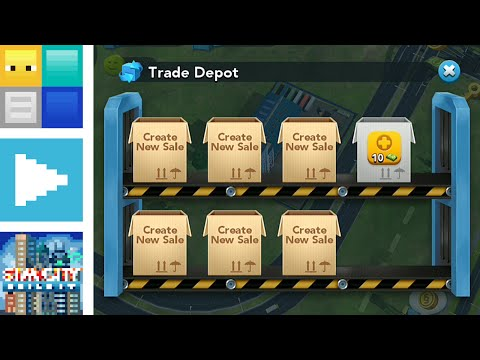 SimCity BuildIt - 5 Essential Trading Tips | Blocks Plays BuildIt E6 | AYB35