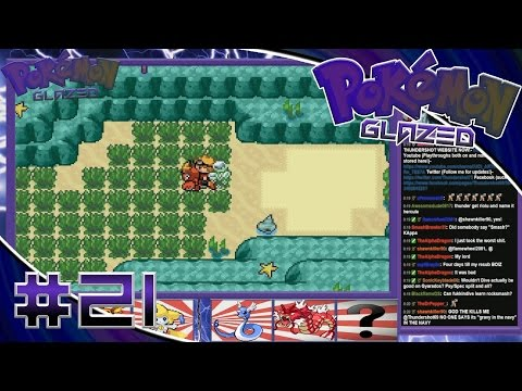 Pokemon Glazed Walkthrough Part 21- Diving into a cave/The EEVEE (EV) DOJO!