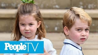 Inside The Lives Of Royal Siblings Prince George And Princess Charlotte   PeopleTV