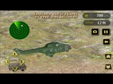 Army Helicopter Flight Pilot - Gameplay video