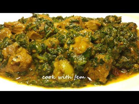 Palak Gosht Recipe - Ramzaan Special | पालक गोश्त रेसिपी | Mutton Spinach Recipe - English Subtitles