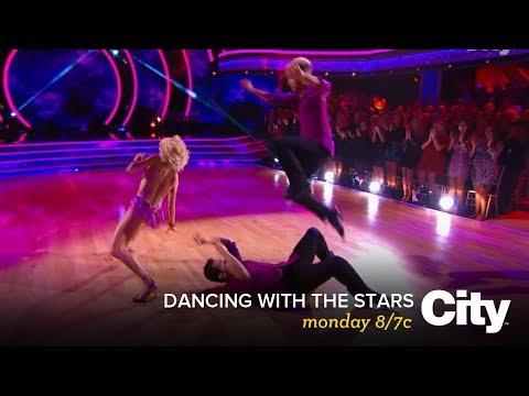 Jordan, Lindsey & Corbin Bleu dance a Trio Salsa | DWTS Monday 8/7c