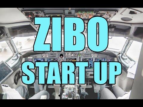 Download 737-800 ZIBO Start-Up Procedures [2018] Checklist