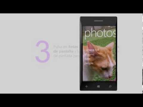 Screenshot Windows Phone 8 (Español)