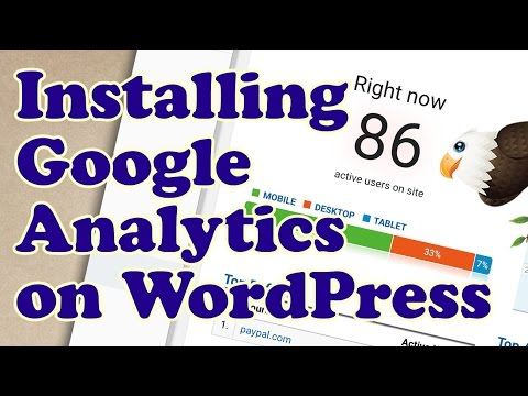 Adding Google Analytics to WordPress using a Plugin
