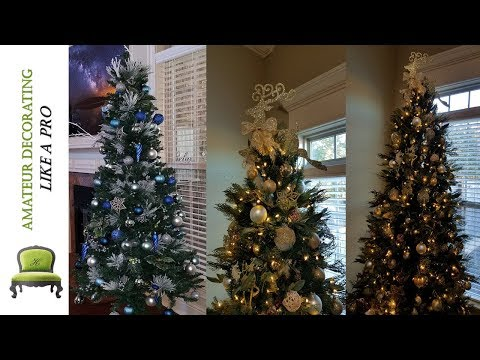 DIY Dollar Tree Tree Topper & Christmas Trees  2017  - #2