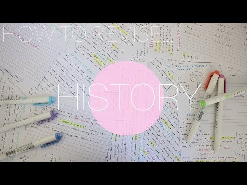 HOW TO REVISE HISTORY// GCSE 9-1