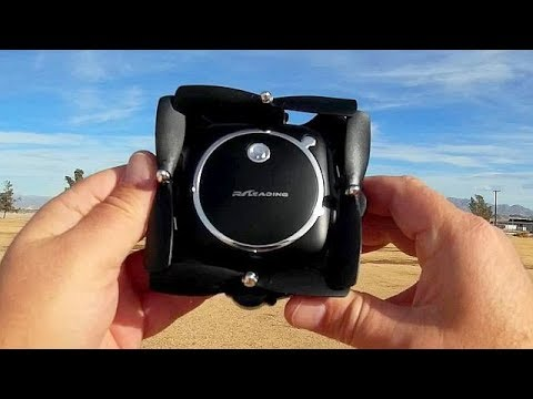 RC118 Position Hold HD Camera Folding Selfie Drone Flight Test Review