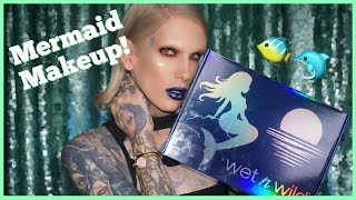 MERMAID MAKEUP?! TRYING THE *NEW* WET N WILD COLLECTION!