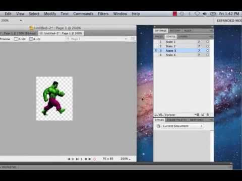 Creating an Animated Sprite Loop in Fireworks CS5