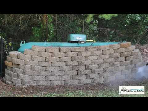 How To Powerwash Brick Retaining Walls 100% Clean (In Seconds!)