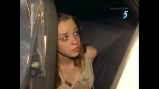 Cop tells girl she has a right to be spanked.