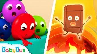 Colorful Candies Rescue Team | Color Songs | Learn Colors | Kids Cartoon | Nursery Rhymes | BabyBus