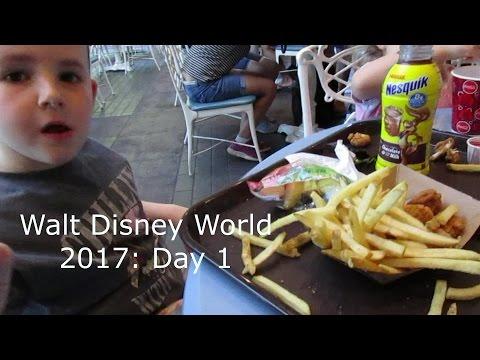 Walt Disney World 2017 Travel day 1: Beach Club Villa Tour