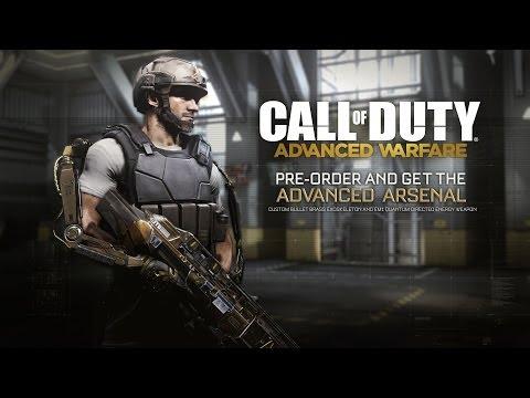 """Call of Duty: Advanced Warfare """"Advanced Arsenal"""" Pre-Order"""