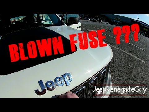 How To Replace a 12v Outlet Fuse on a Jeep Renegade DIY