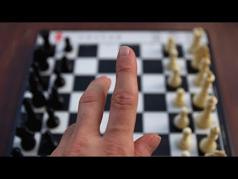 what it's like to play chess against yourself