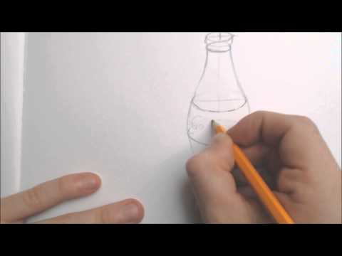 Using ellipses to draw a coke bottle