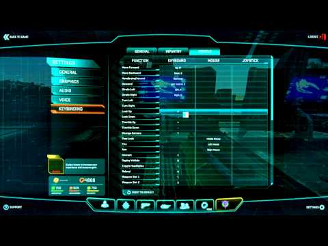 Planetside 2 Basic Training: Air keybindings and thoughts