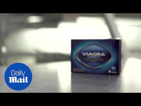 Manufacturer launches £5 viagra that doesn't require a prescription - Daily Mail