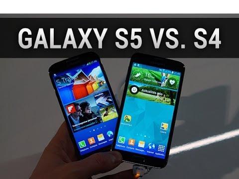 Samsung Galaxy S5 vs. Galaxy S4, comparaison specs, design et interfaces (MWC 2014)