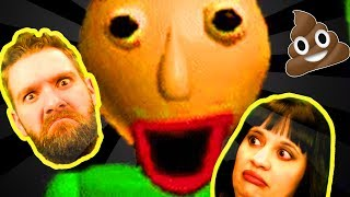 Baldi's Basics in Education and Learning (Indie Horror) - #3 | STILL GETTING OUR HAND SLAPPED