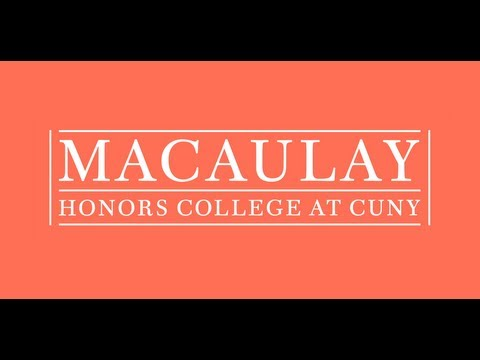 Join us at a Macaulay Honors College Info Session!