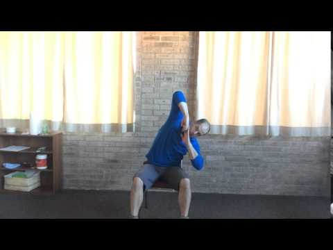 Lovett Chiropractic Amarillo - How To Stretch Mid Back Muscles - Seated Mid Back Tilts