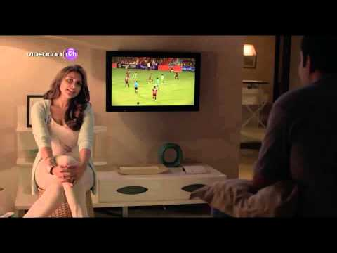 Videocon d2h- Indian Values disturb TVC, India's first Radio frequency remote with earphones