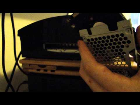 how to install hard drive on PS3