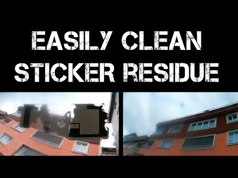 How to Remove Sticker Residue From Windshield