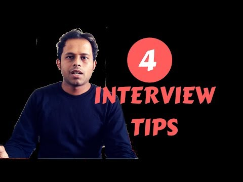 QnA Friday 32 - 4 Basic Interview TIPS