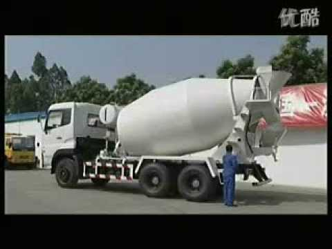 how to operate cement mixer truck operation instruction