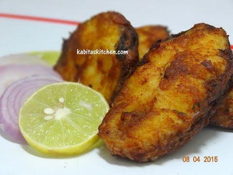 Simple and Delicious Fish Fry-Rohu Fish Fry-Bengali Maach Bhaja Recipe-Bengali Fish Fry