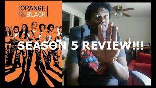 ORANGE IS THE NEW BLACK SEASON 5 REVIEW!!!!