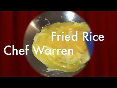 Egg Fried Rice with Chorizo