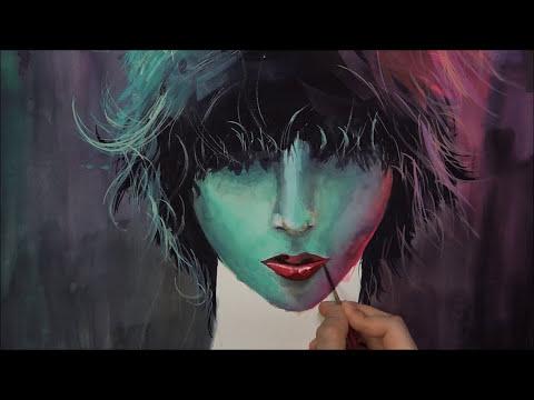 [Watercolor] Neon Lights