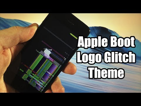 How to Change your Boot Logo in iOS 7 - Glitch Theme