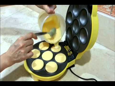 How to make Cupcakes with the Delish Treats 2 in 1 Maker