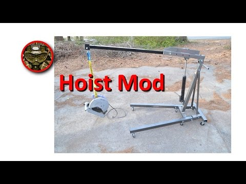 Harbor Freight Engine Hoist Modification