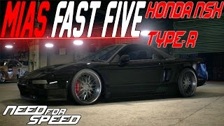 Need For Speed 2015 : Mia's Fast Five Honda NSX TYPE-R CUSTOMIZATION & GRIP BUILD