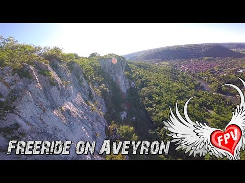 Drone FPV Freeride Spring Mix - Cliff & Canyon on Aveyron - France