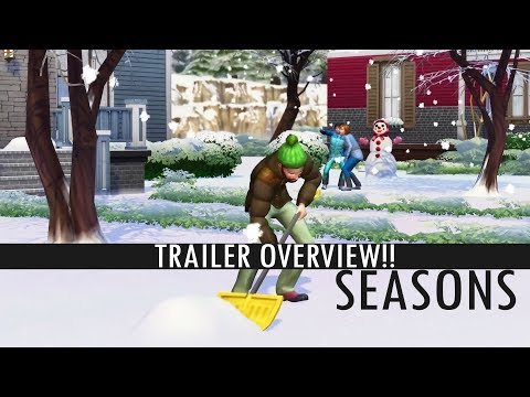 SEASONS IS COMING TO THE SIMS 4 NEXT MONTH!