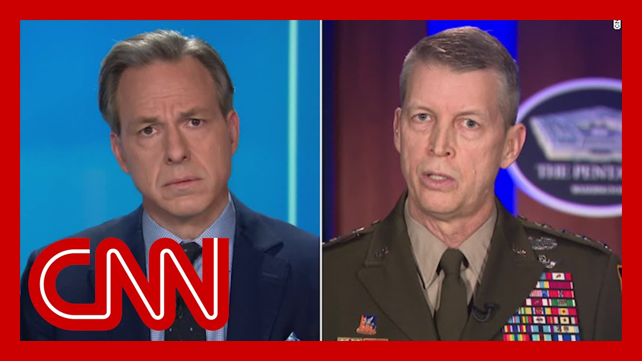 Tapper presses National Guard Chief on delayed riot response