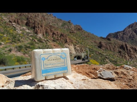 A La Masion hypoallergenic unscented bar soap review