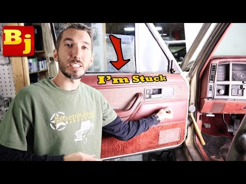 My Window Won't Roll Up - Easy Fix - Project Comancheep